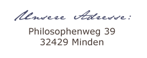 Adresse B&B Philosophenweg