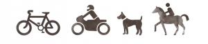 Motorrad Hunde Pferde Unterkunft